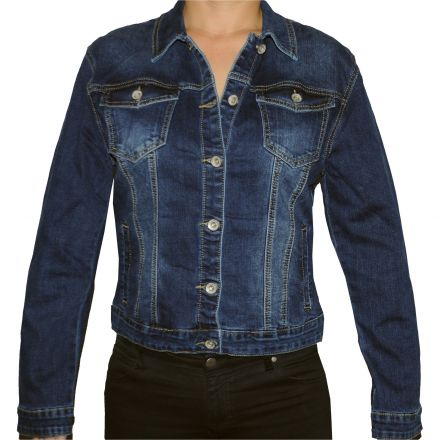 Dzseki Redress Jeans Wear C007 Original Jeans Jacket for Women