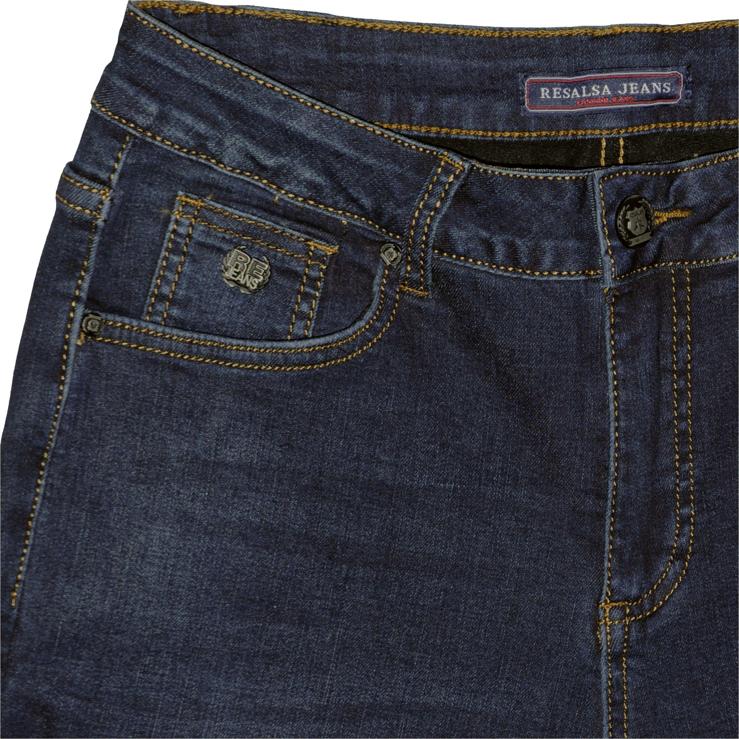685c8fd731 ... Nadrág Resalsa® Jeans 6145 Bélelt szűk szárú farmernadrág ...