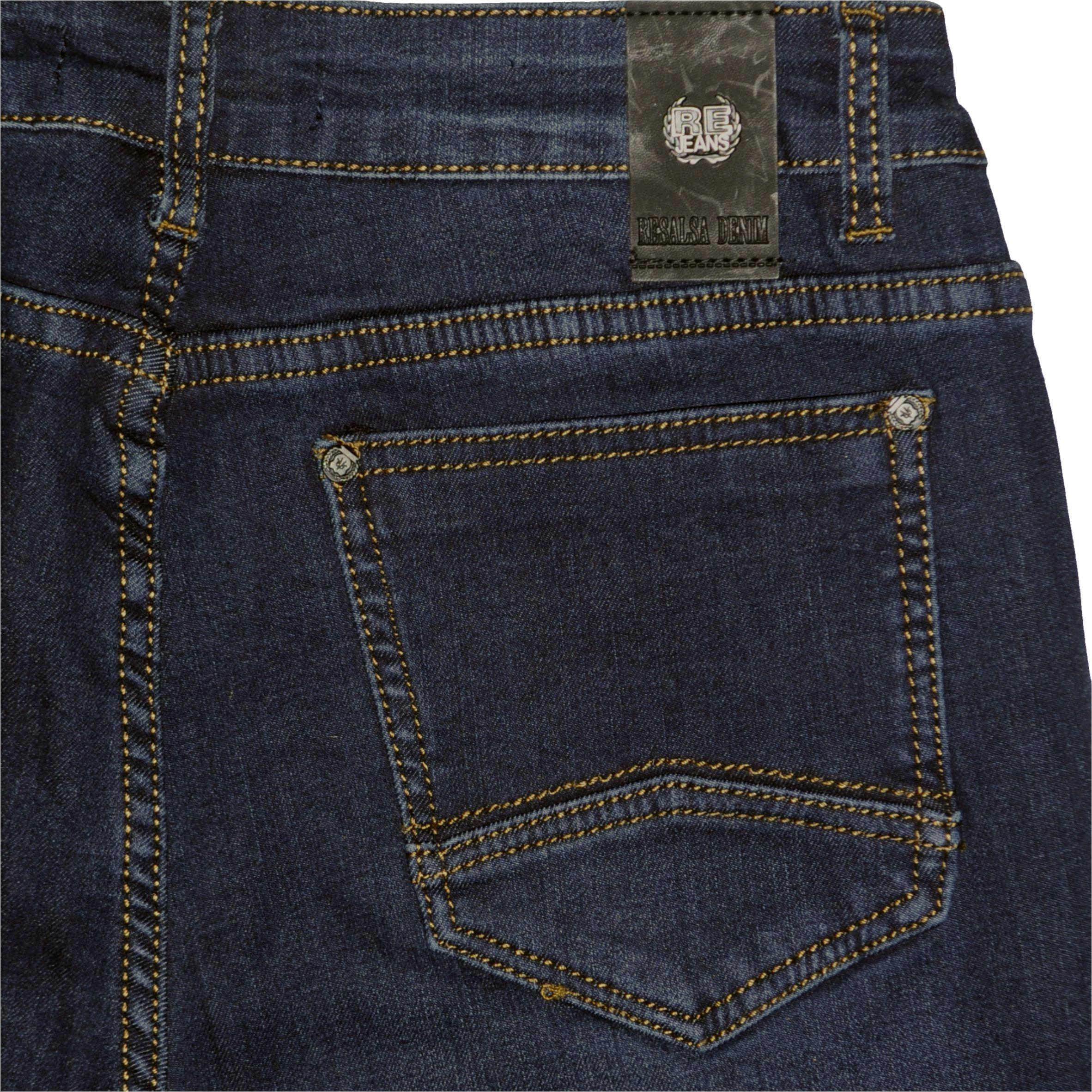 b21c3224a8 ... Nadrág Resalsa® Jeans 6145 Bélelt szűk szárú farmernadrág