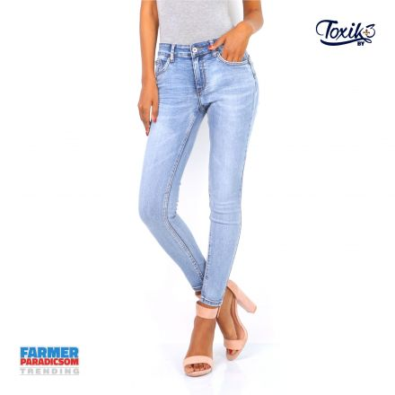 Nadrág Toxik3 Jeans 1696 Shining Super Stretch Slim Fit
