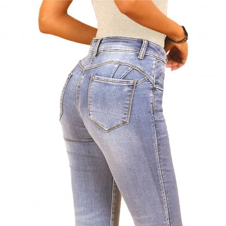 Nadrág Miss Bonbon Denim Collection 2783 Julietta Push Up Stretch Jeans