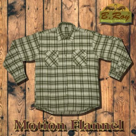 Ing B. Roy Motion Flannel