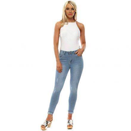 Nadrág Toxik3 Jeans L267 Light Blue Slim Fit