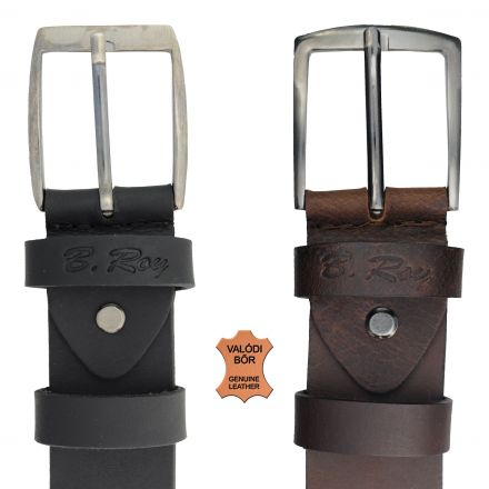 Öv B. Roy Traditional Genuine Leather Belt