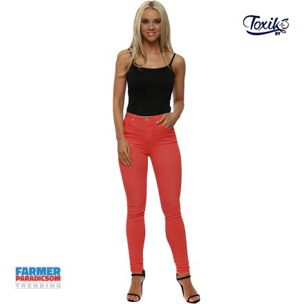 Nadrág Toxik3 Jeans L750 Color Magic Stretch