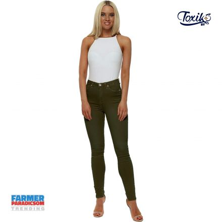 017e27e894 Nadrág Toxik3 Jeans L750 Color Magic Stretch
