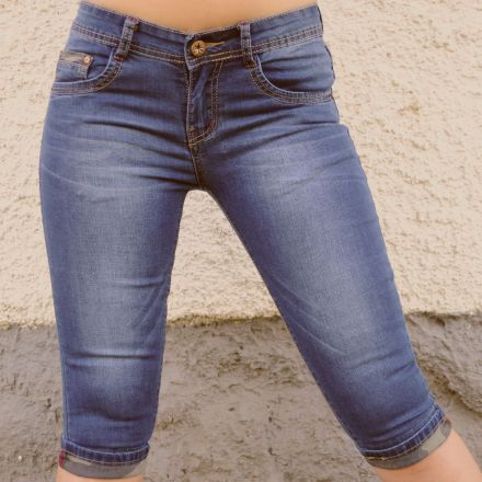 Rövidnadrág Realize Jeans Q5357 Stretch Capri Jeans