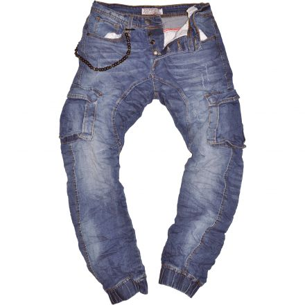 Nadrág X-Three denim M1062 Side Pockets Slim Fit