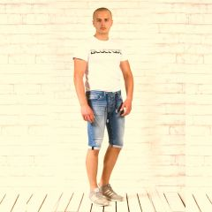 Rövidnadrág Denistar Jeans 980 SuperStretch Unisex Capry (Limited)