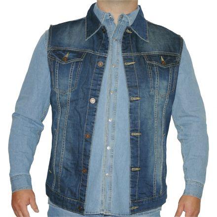 970f935df9 Dzseki Viman Denim Jeans 2803 Texas Vest