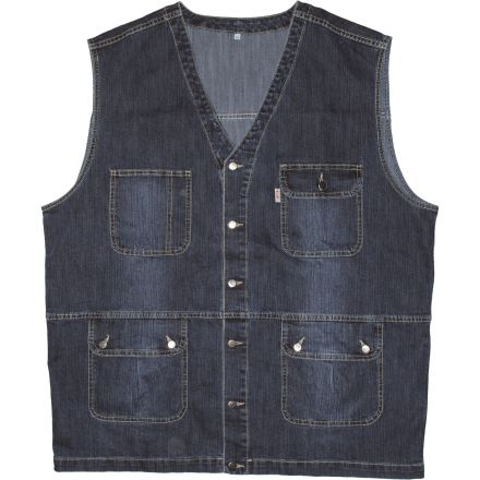 Dzseki Quintz x153 Alabama T-Blue Stretch Vest